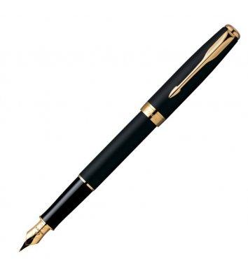 Ручка перова Parker Sonnet Matte Black FP