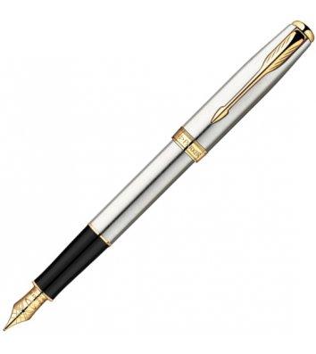 Ручка перова Parker Sonnet S/S GT FP