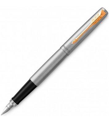 Ручка перова Parker Jotter SS CT FP