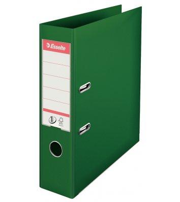 Папка-реєстратор А4 50мм двостороння зелена No.1, Esselte
