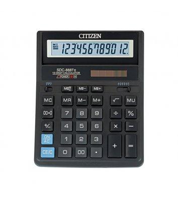 Калькулятор 12 розрядів 203*158*31мм, Citizen