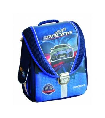 """Рюкзак каркасний шкільний """"Blue Car"""", Cool for School"""