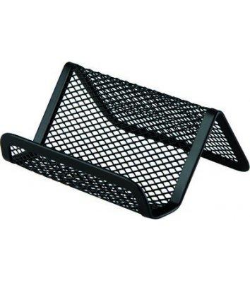 Підставка для візиток металева чорна, Buromax