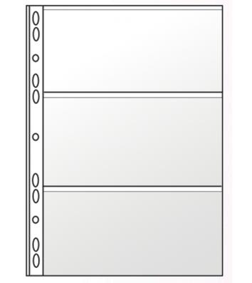 Файл для банкнот А4 11 отворів PVC, Panta Plast