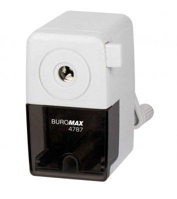 Чинка механічна з контейнером асорті, Buromax