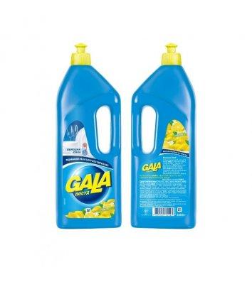 Засіб для миття посуду Gala 1л, лимон