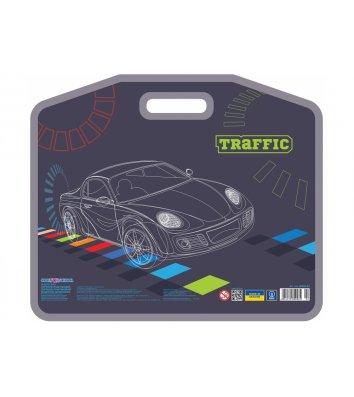 """Портфель А3 пластиковий на липучці """"Traffic"""", Cool for School"""
