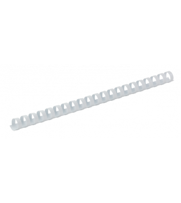 Пружини для брошурування  8мм 100шт пластикові білі, DA