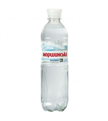 Вода мінеральна негазована Моршинська 0,5л