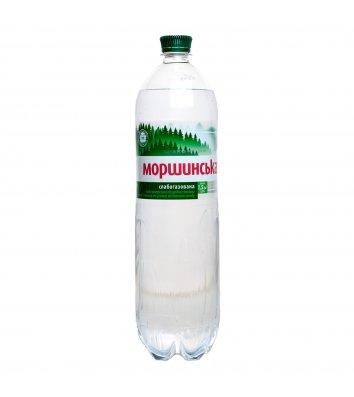Вода мінеральна слабогазована Моршинська 1,5л