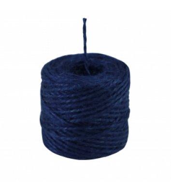 Шпагат джутовий двохнитковий синій 45м бобіна, Радосвіт