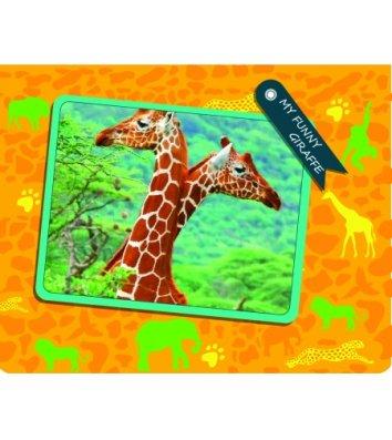 "Папка B5 пластиковая на резинках ""My funny giraffe"", Cool for School"