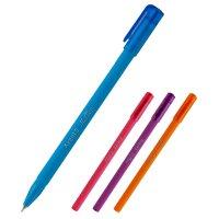 Ручка масляна Mellow, колір чорнил синій 0,7мм,  Axent