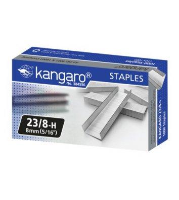 Скобы для степлера №23/8 2000шт, Kangaro