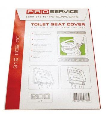 Накладки на сиденье унитаза 200шт 1/4 PRO Service