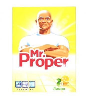 Средство чистящее Mr.Proper универсальный моющий порошок 400г лимон