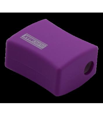 Точилка пластиковая 2 лезвия с контейнером ассорти, Buromax