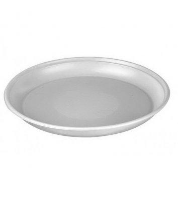 Тарелки одноразовые пластиковые d=16,5см 100шт, белые
