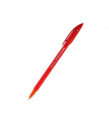 Ручка кулькова Spectrum Fashion, колір чорнил червоний 1мм, Unimax