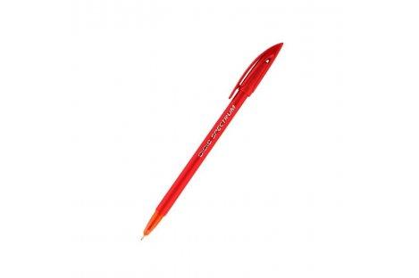 Ручка шариковая Spectrum Fashion, цвет чернил красный 1мм, Unimax