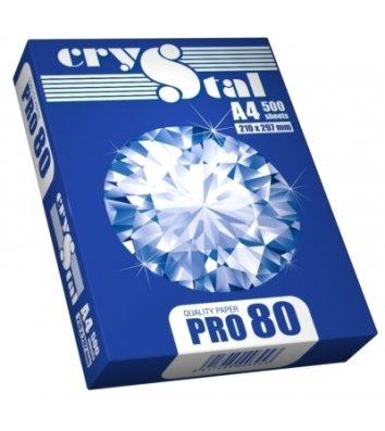 Бумага офисная А4 80г/м2 500л класс C Crystal Pro, белая