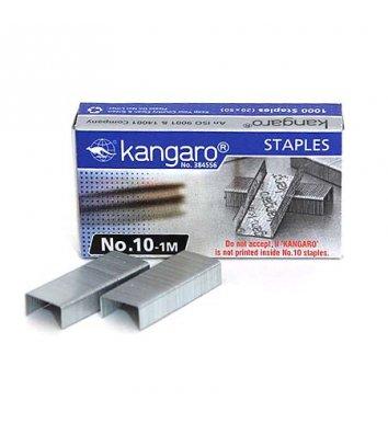 Скобы для степлера №10 1000шт, Kangaro