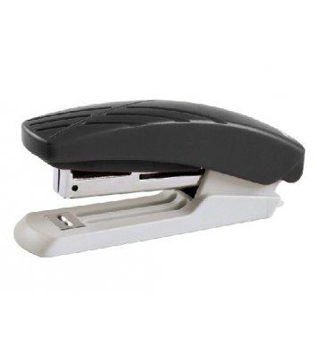 Степлер 10л скобы 10 пластиковый корпус серо-черный Duoton, Axent