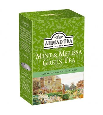"Чай зелений Ahmad Tea ""Mint&Melissa Green Tea"" заварний 75г"