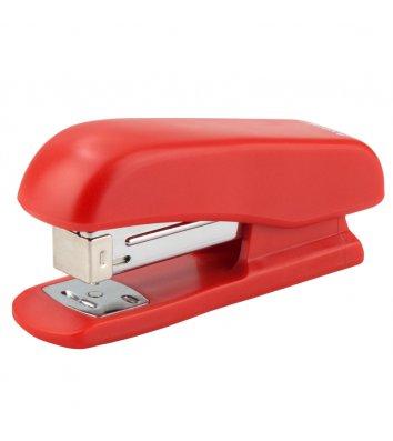 Степлер  20арк скоби 24/6  пластиковий корпус червоний, Axent