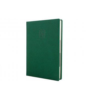 Ежедневник датированный A5 2020 Armonia зеленый, Optima