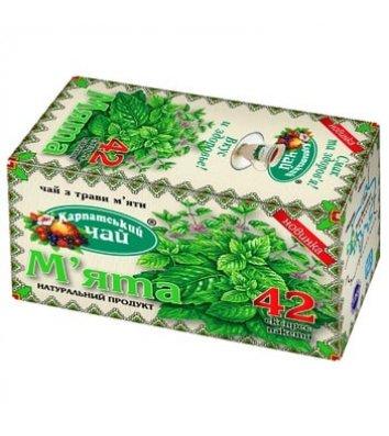 """Чай травяной Карпатський """"Мята"""" в пакетиках 20шт"""