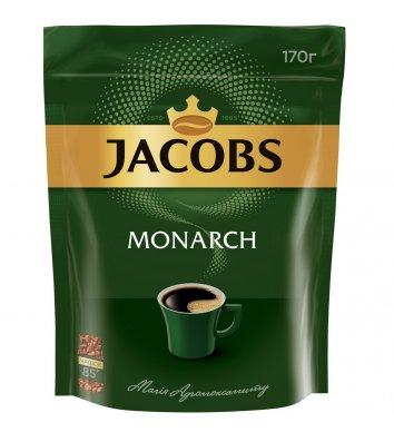 Кава розчинна Jacobs Monarch 170г, економ пакет