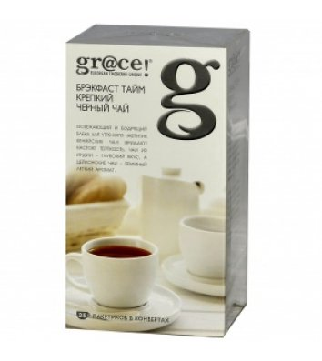 "Чай чорний gr@ce! ""Брекфаст Тайм"" в пакетиках 25шт"