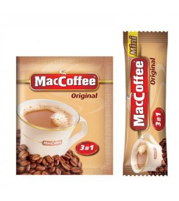 Напій кавовий MacCoffee Original 3в1 в стіках 20г