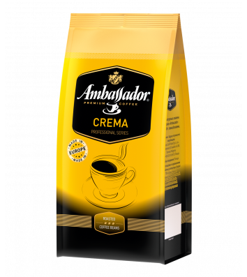Кава в зернах Ambassador Crema 1кг