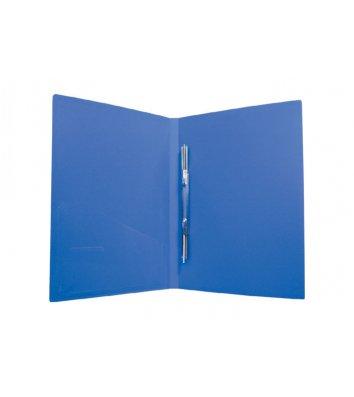 Папка-скоросшиватель А4 пластиковая Clip A синяя, Economix