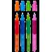 Ручка шариковая для левши, цвет чернил синий 0,7мм, Zibi
