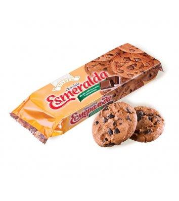 """Печиво """"Есмеральда"""" з шоколадними кусочками 150г, Roshen"""