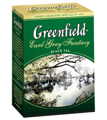 """Чай чорний Greenfield """"Earl Grey Fantasy"""" заварний 100г"""