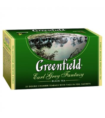 "Чай чорний Greenfield ""Earl Grey Fantasy"" в пакетиках 25шт"