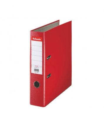 Папка-регистратор А4 75мм односторонняя красная Eco, Esselte
