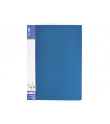 Папка А4 пластикова з затиском Clip В Light синя, Economix