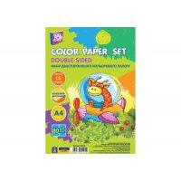 Папір кольоровий двосторонній А4 16арк 16 кольорів, Cool for School
