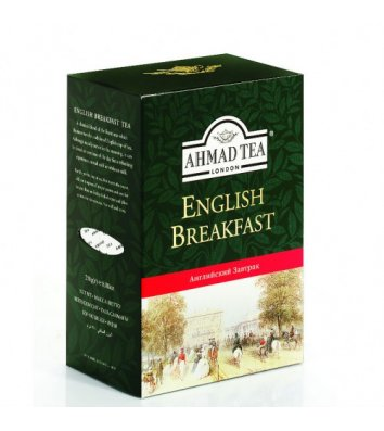 """Чай чорний Ahmad Tea """"Англійський до сніданку"""" заварний 100г"""