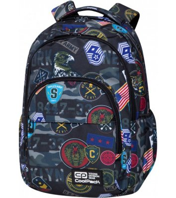 Рюкзак Military Patches, Coolpack