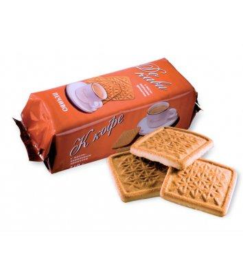 """Печиво """"До кави"""" з ванільним ароматом 210г, Roshen"""