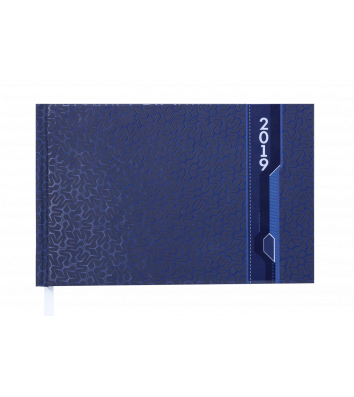 Щотижневик датований 2019 кишеньковий Velvet синій, Buromax