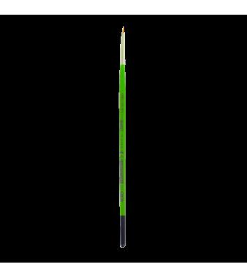 Пензлик  №0  синтетика (нейлон) круглий