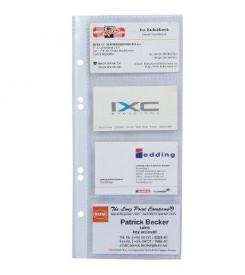 Файл для 8 визиток 70мкм, Axent