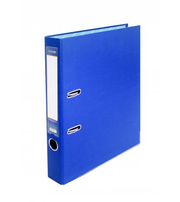 Папка-реєстратор А4 70мм одностороння синя, Economix